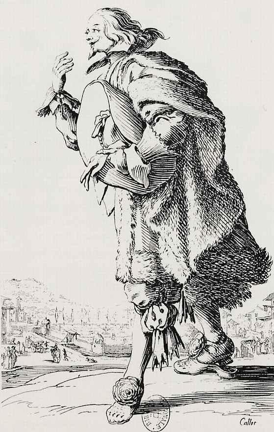 Жак Калло. Раскланивающийся кавалер