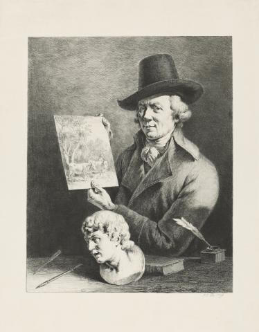Жан-Жак де Буассье. Автопортрет