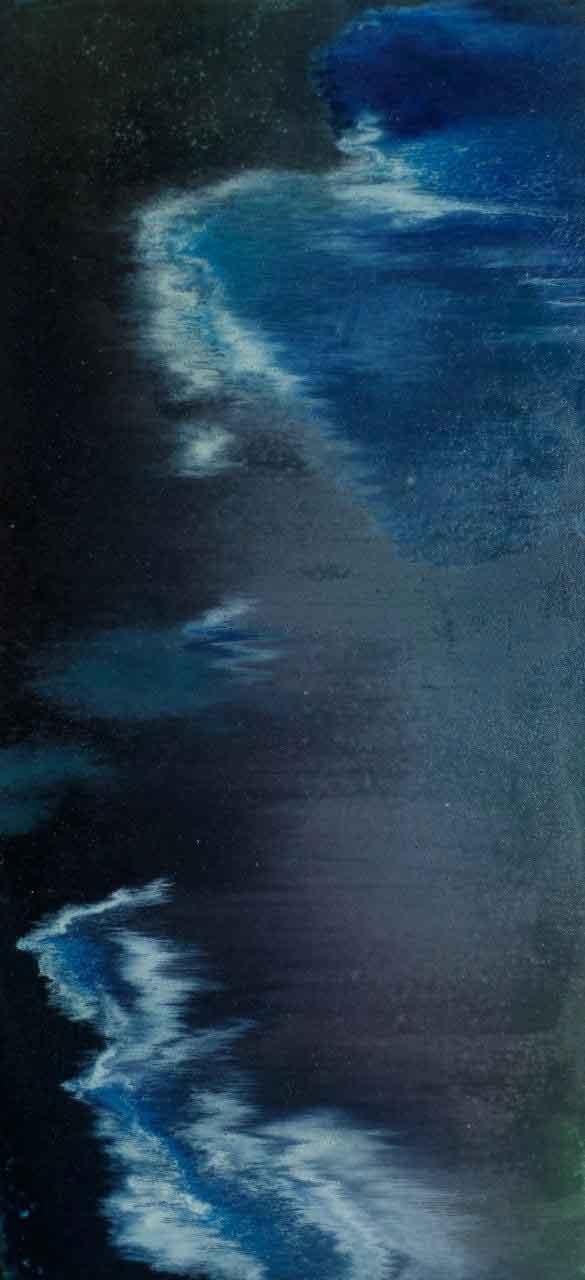 """Alla Struchayeva. Painting """"Sky Lagoon"""""""