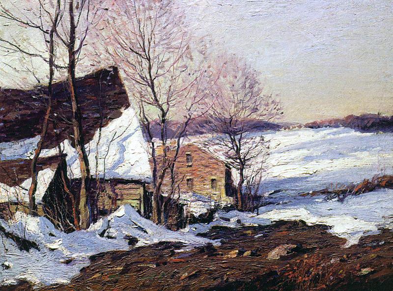 Джордж М. Бпуестл. Зима