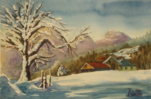 Larissa Lukaneva. Winter Chalet