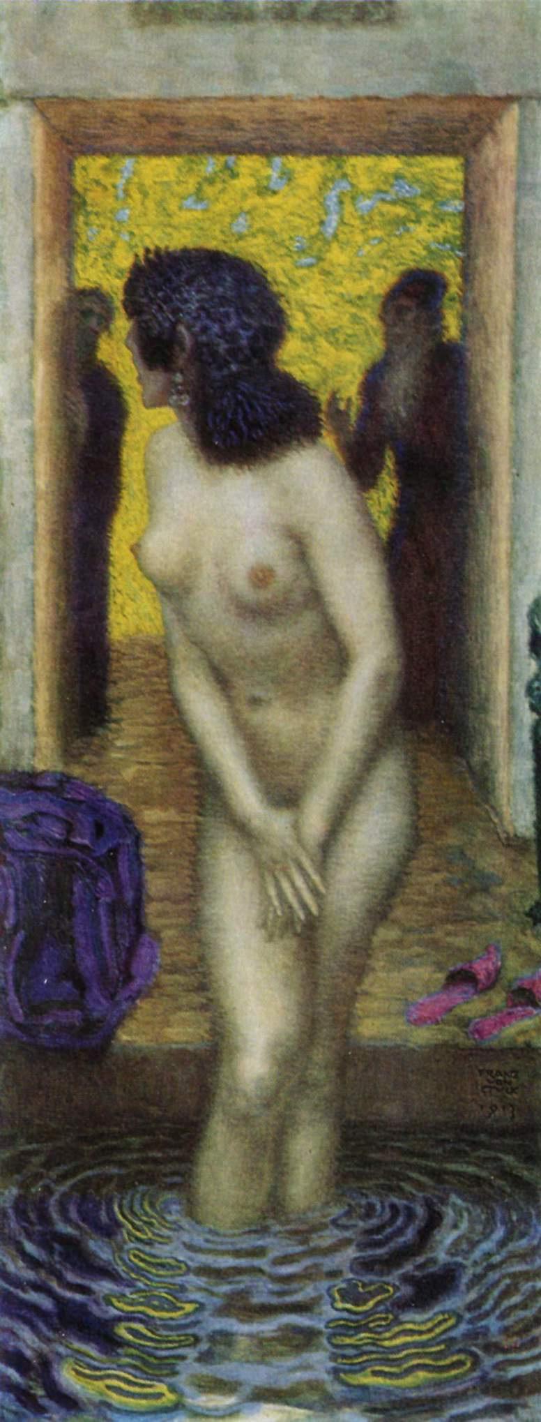 Franz von Stuck. The Bathing Susanna