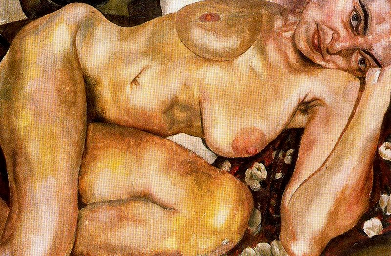 Stanley Spencer. Reclining Nude