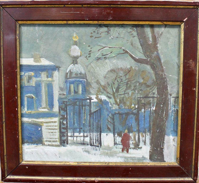 Victor Mikhailovich Vasiliev. Winter day