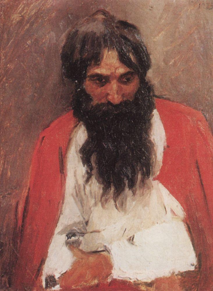 Василий Иванович Суриков. Чернобородый стрелец