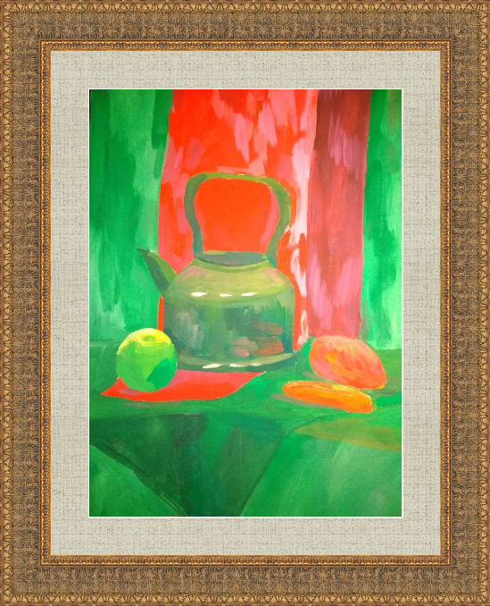 Art-Teodor Gallery. Still life with a kettle
