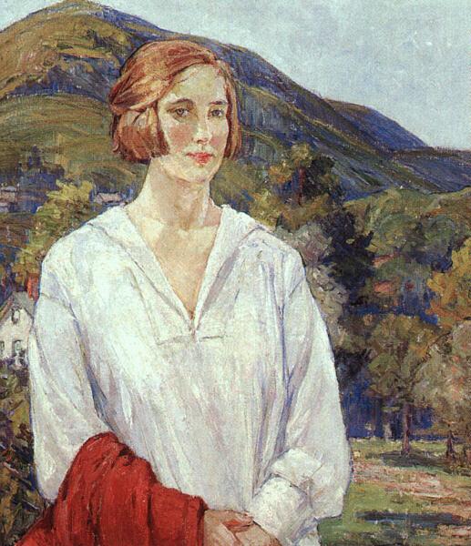 Агнес Миллен Ричмонд. Девушка в белой рубашке