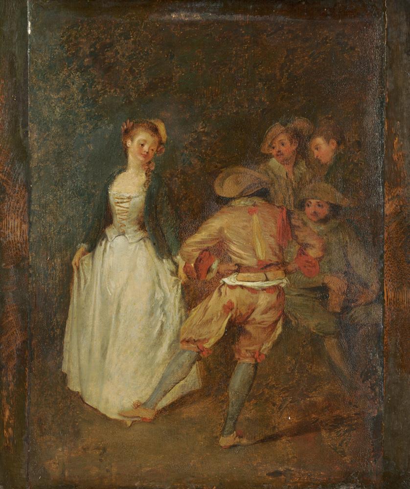 Антуан Ватто. Сельской танец