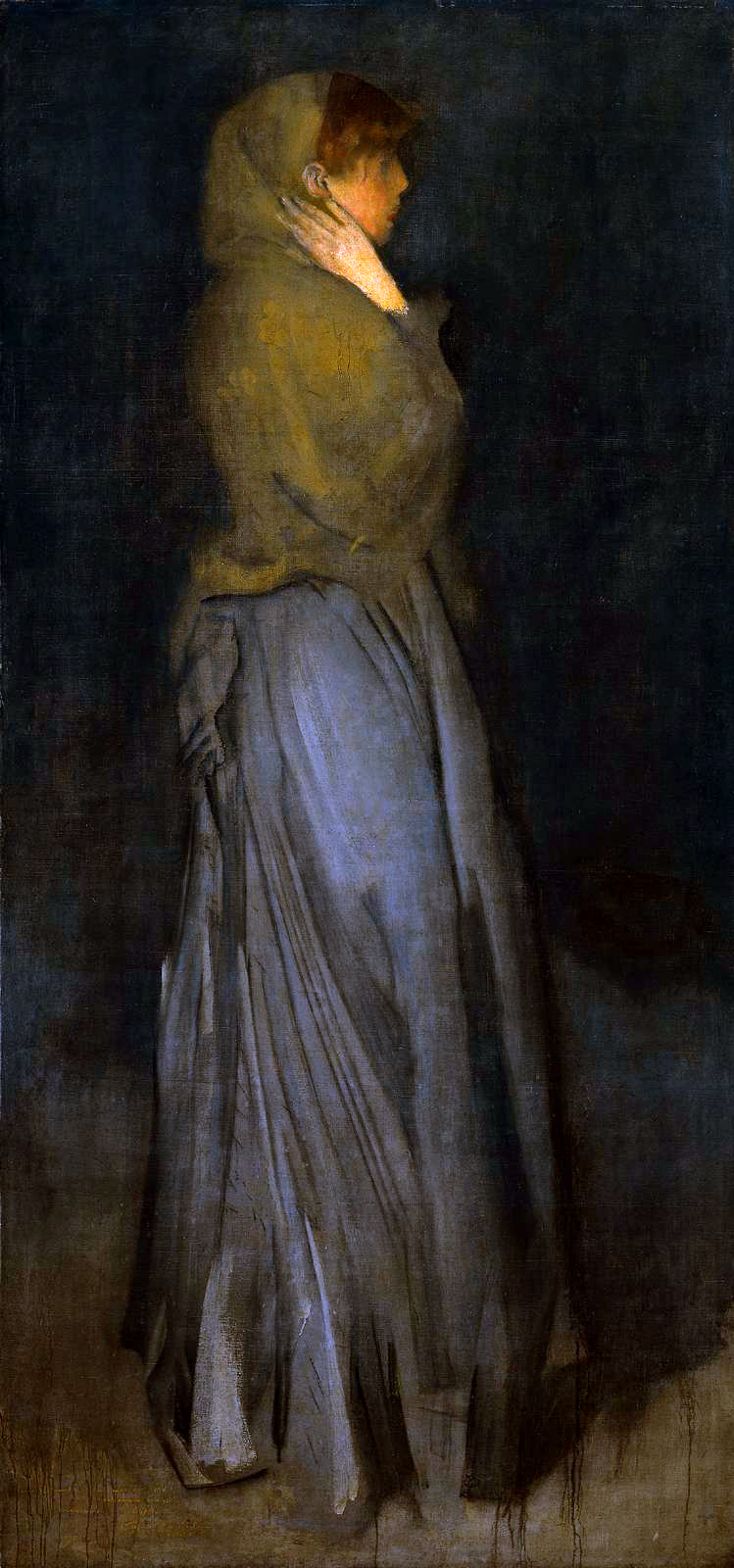 James Abbot McNeill Whistler. Arrangement in yellow and grey: EFFIE deans