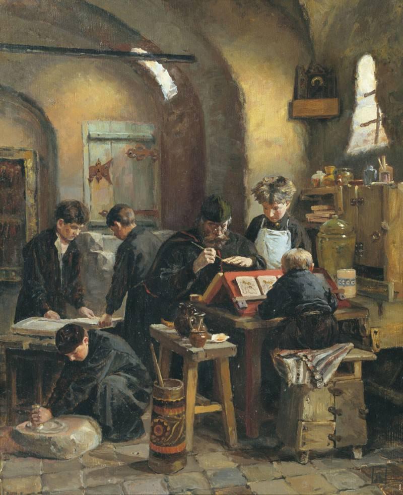Elena Dmitrievna Polenova. Icon Painting Workshop