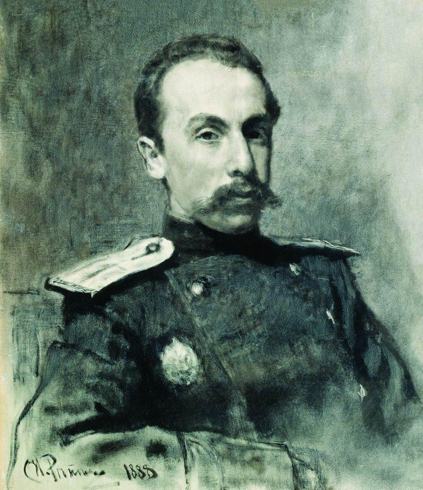 Илья Ефимович Репин. Портрет А. В. Жиркевича