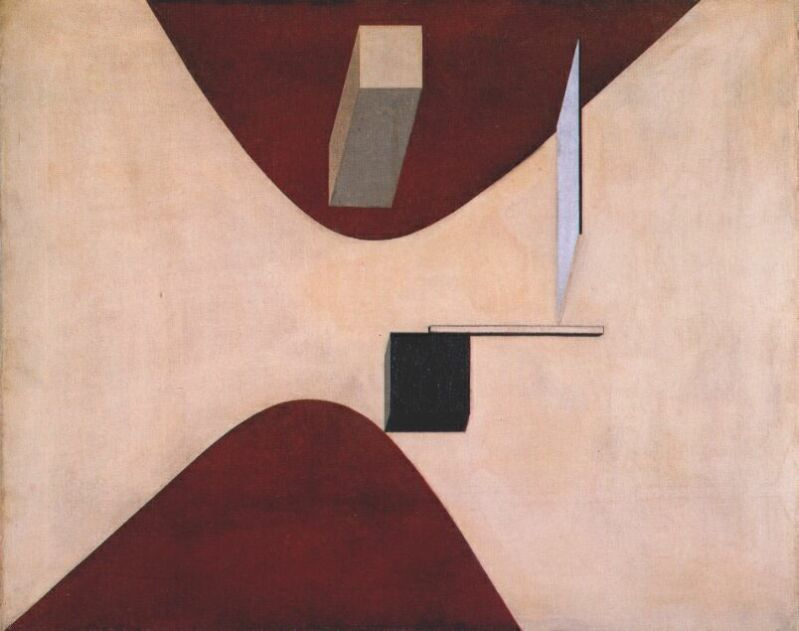 El Lissitzky. Abstraction in pink