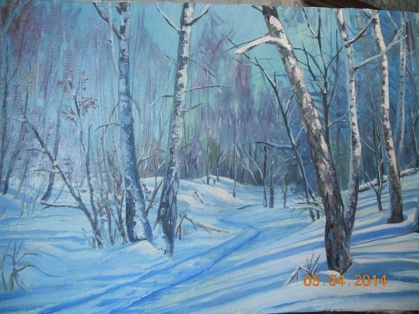 Grigory Krepachev. Icy January