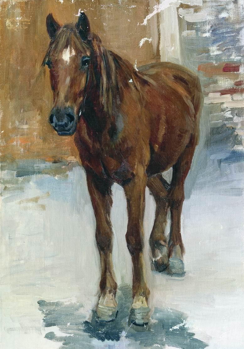Alexey Stepanovich Stepanov. Horse