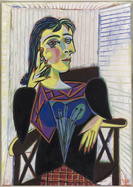 Пабло Пикассо. Сидящая Дора Маар