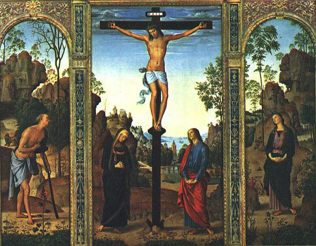 Пьетро Перуджино. Триптих