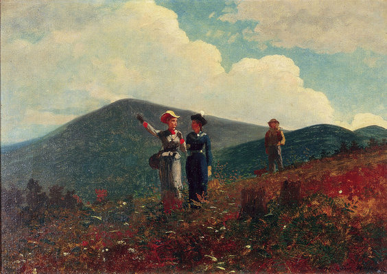 Winslow Homer. The Faith Mountain, Adirondacks