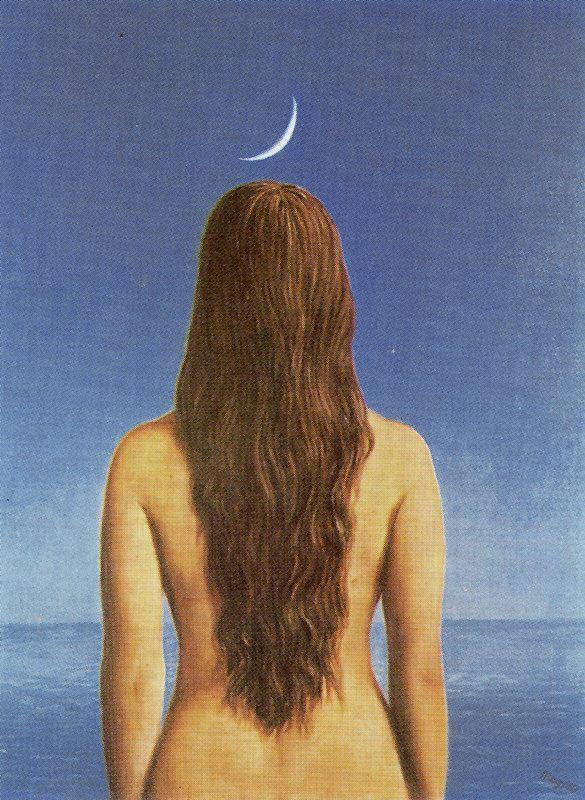 René Magritte. Evening dress