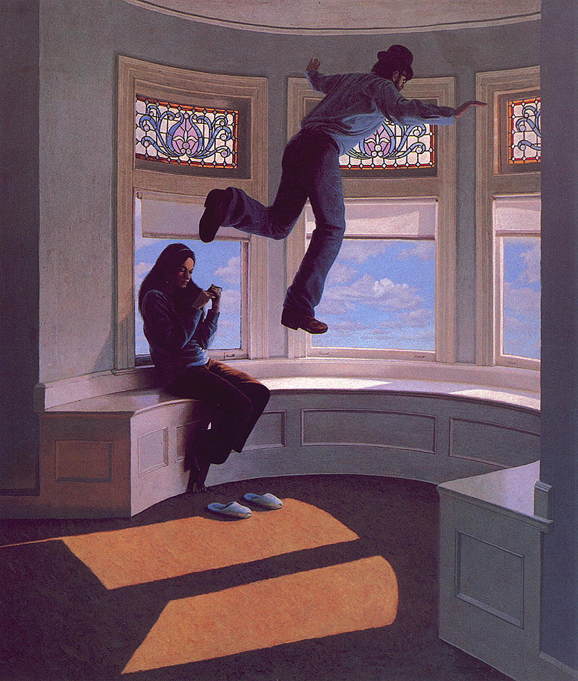 Грег Хильдебрандт. Над окном