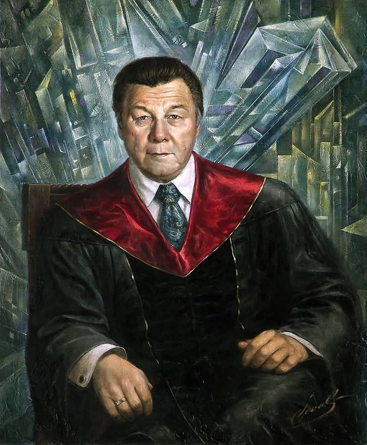 Mikhail Khokhlachov. Professor Yuri F. Vasyuchkov