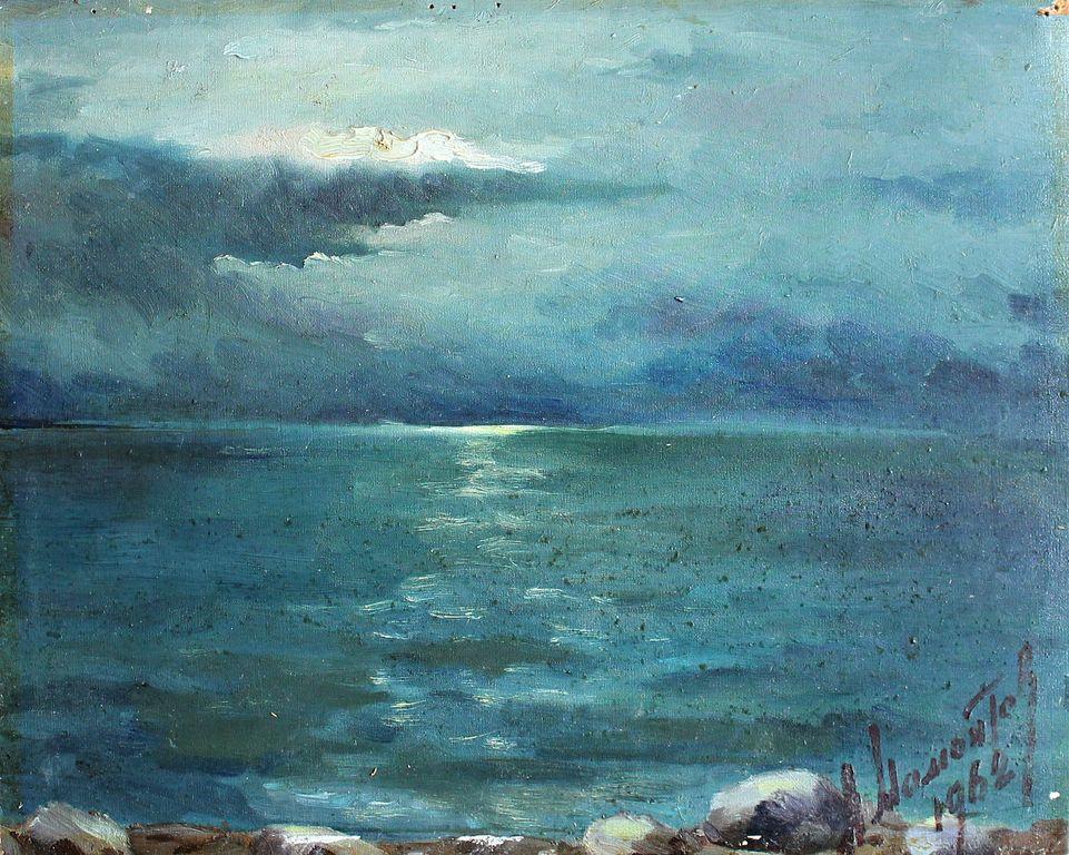 Alexander Pavlovich Mamontov. Night sea