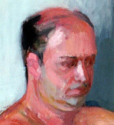Кристоффер Зеттерстранд. Портрет мужчины