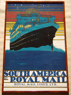 Kenneth Shoesmith. South America by Royal Mail