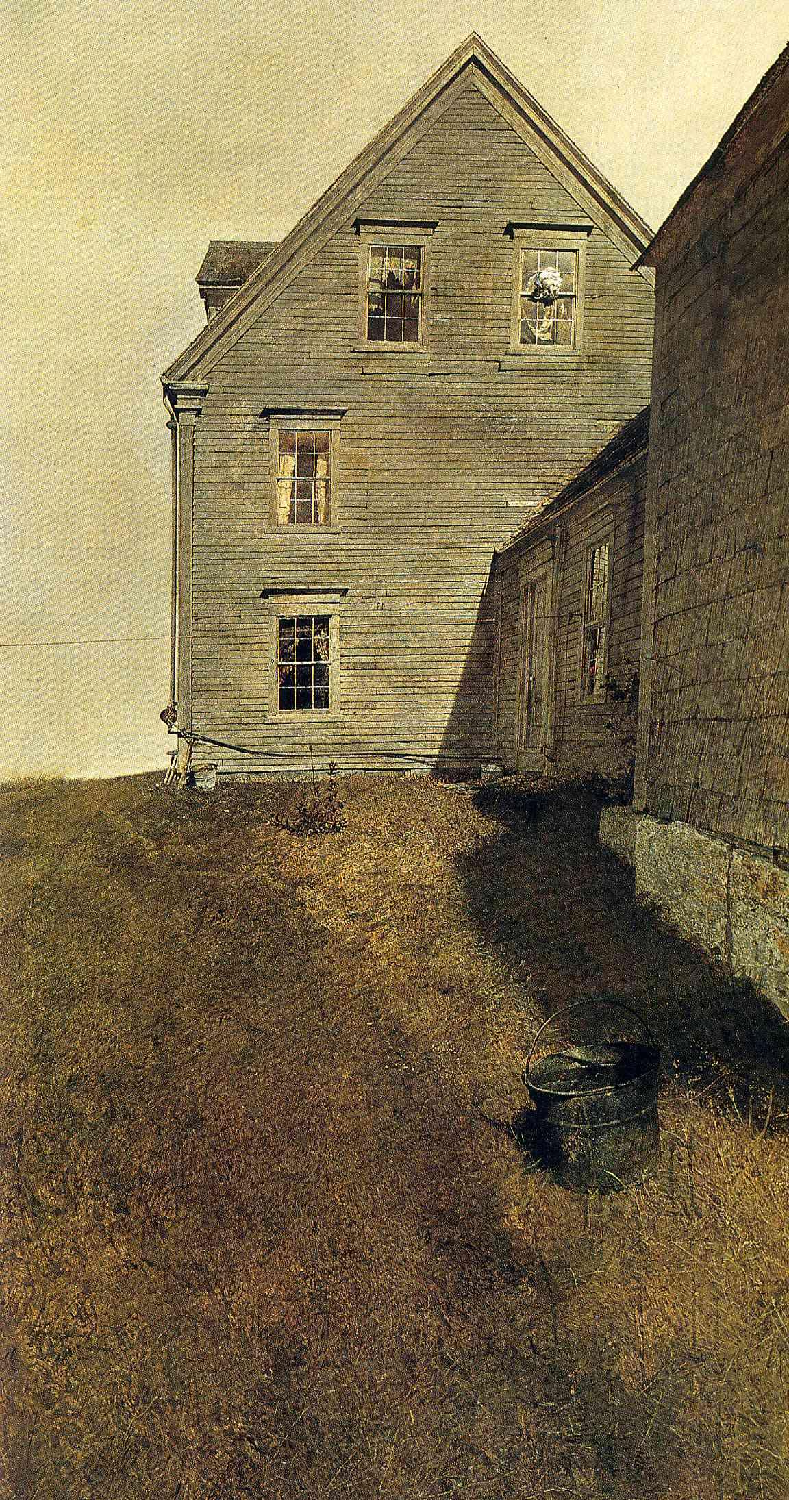 Andrew Wyeth. The windward side