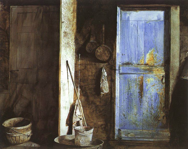 Andrew Wyeth. Alvaro and Christina