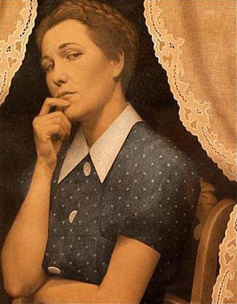 Grant Wood. A perfectionist