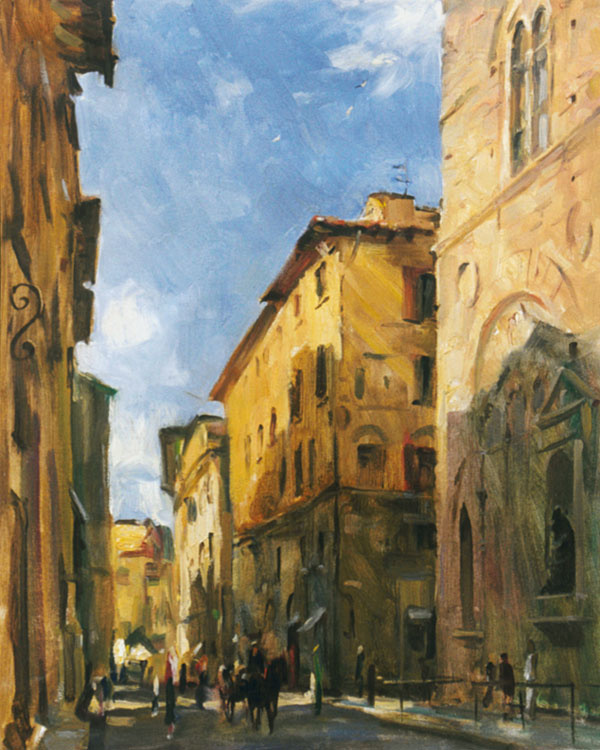Igor Valeryevich Babailov. Morning in Florence