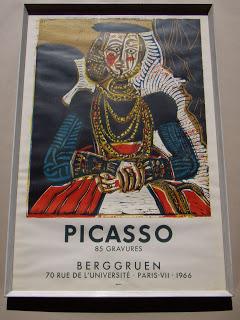 Pablo Picasso. Pablo Picasso Exhibition Poster 1966