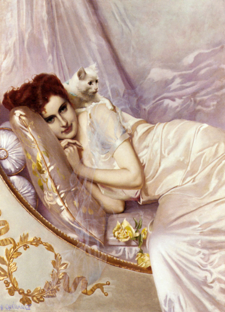 X Gueraulth. In the boudoir