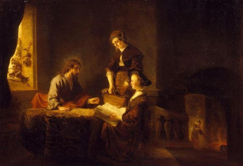 the life and artworks of rembrandt