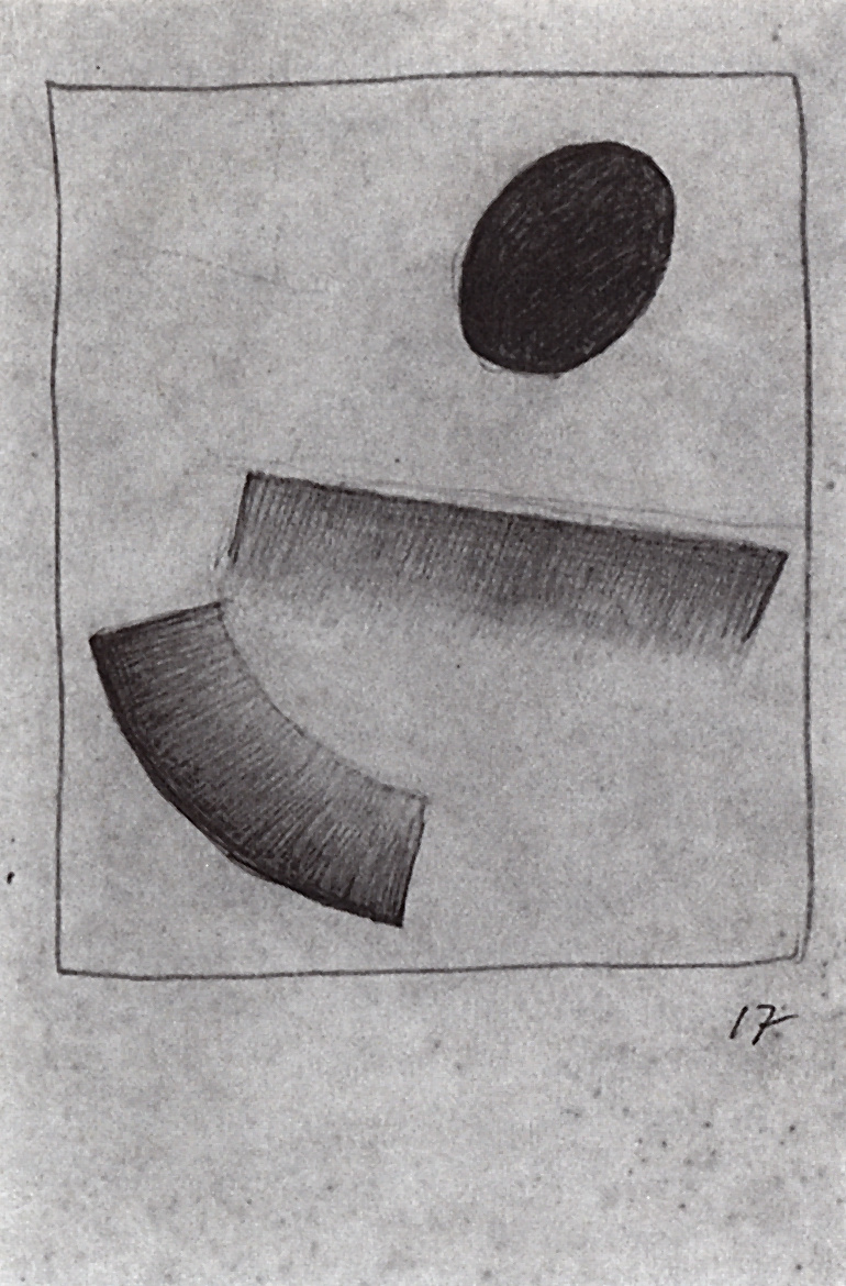 Kazimir Malevich. Magnetic Suprematism