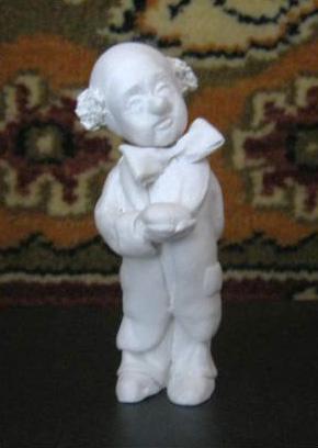 Иван Александрович Долгоруков. Ребёнок-клоун с сердечком в ручке