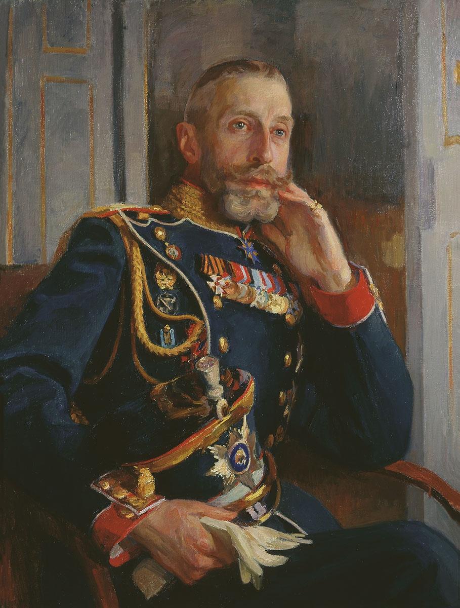Osip Emmanuilovich (Joseph) Braz. Portrait of Grand Duke Konstantin Konstantinovich. 1912