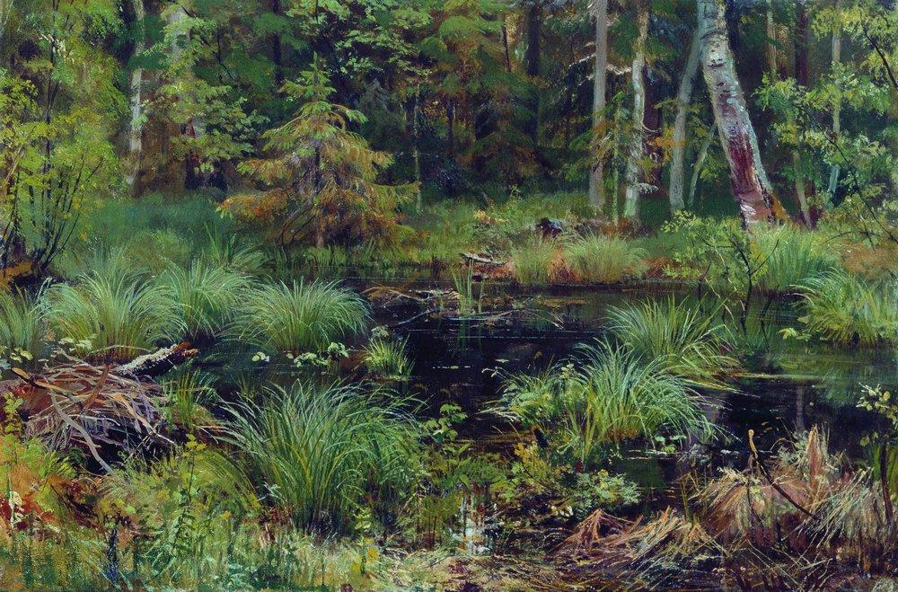 Иван Иванович Шишкин. Родник в лесу