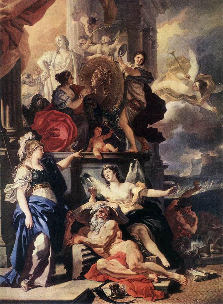 Франческо Солимена. Аллегория царствования