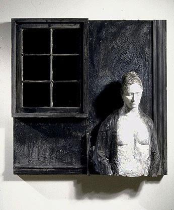 Джордж Сигал. Черное окно