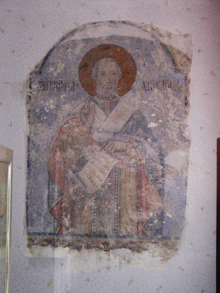 Михаил Львович Бойчук. The only surviving mural by M. Boychuk