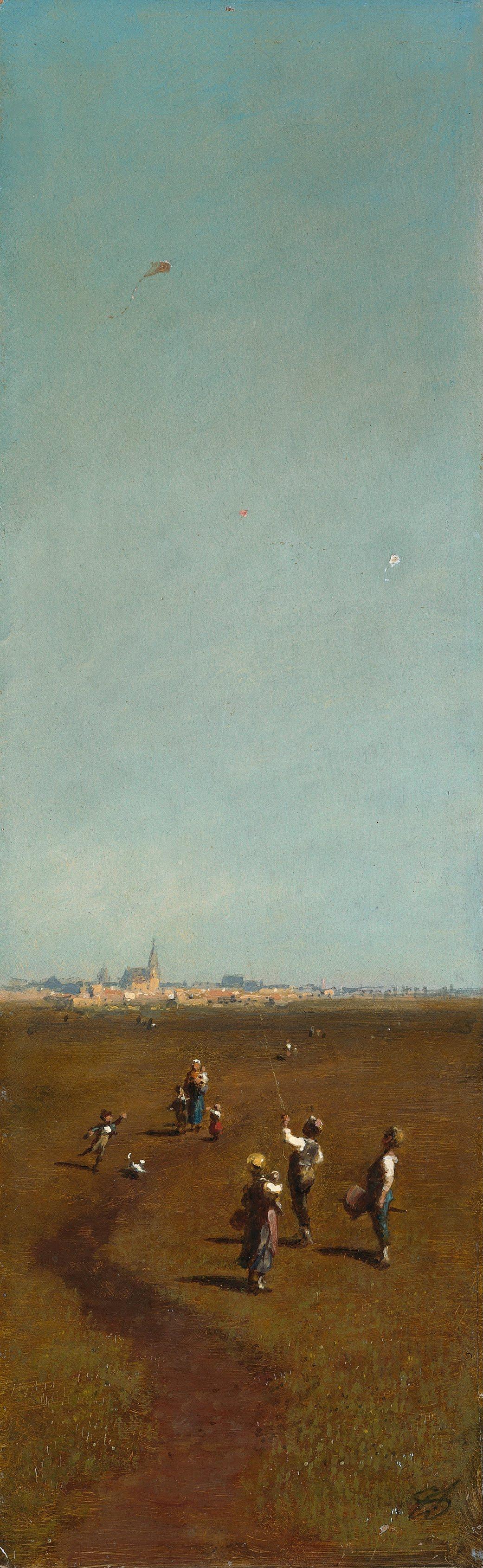 Karl Spitzweg. Kite