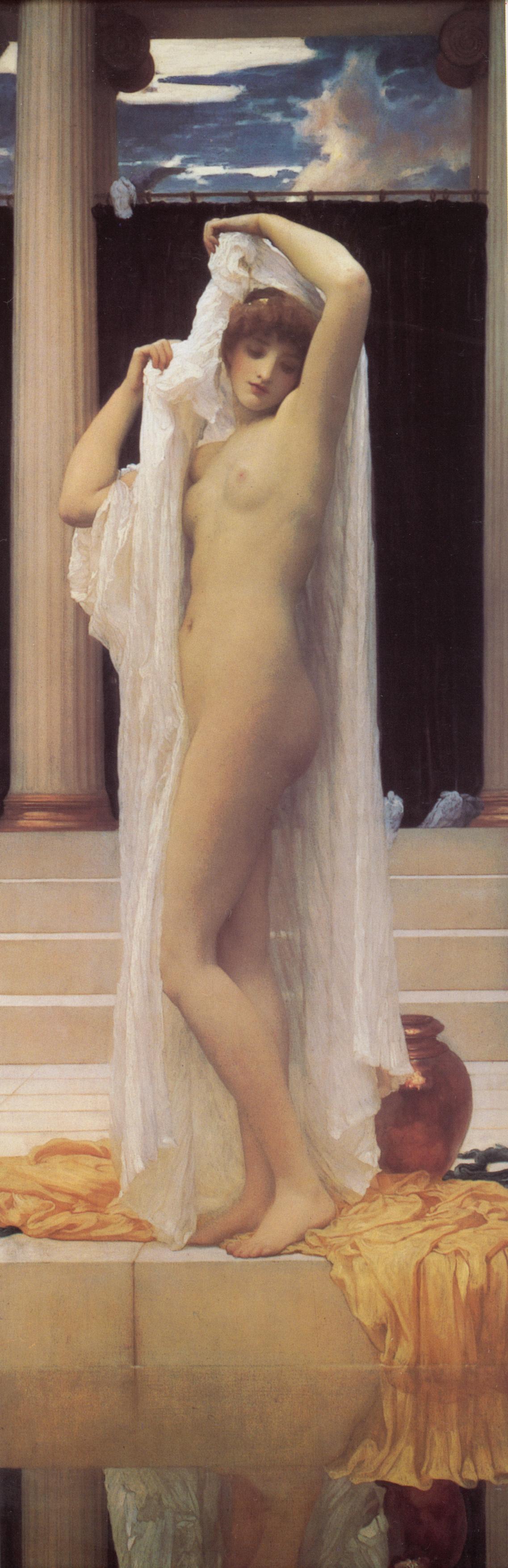 Frederic Leighton. Bathing Psyche