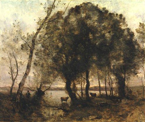 Камиль Коро. Озеро