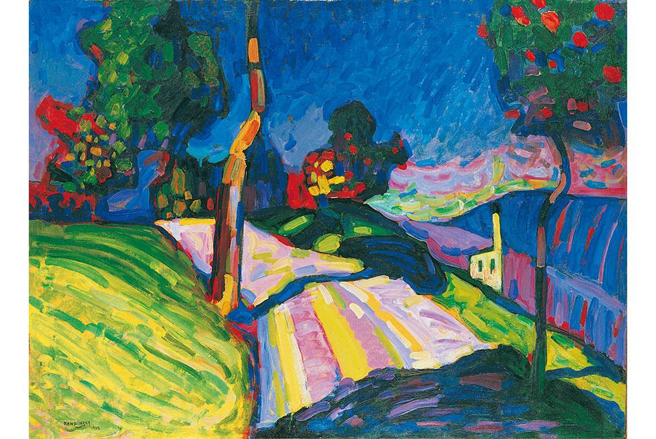 Wassily Kandinsky. Murnau – Kohlgruberstrasse