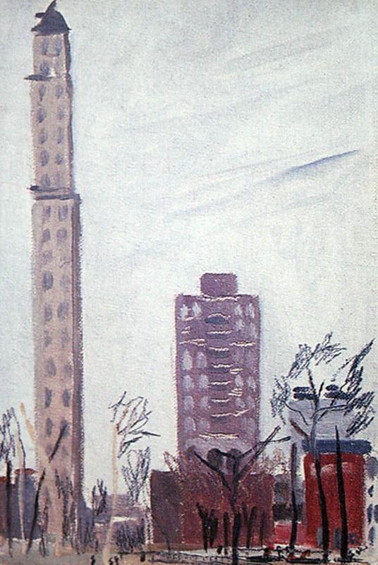 Александр Александрович Дейнека. Филадельфия