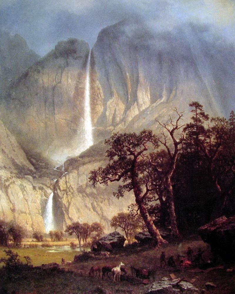 Альберт Бирштадт. Водопад Чо-луки