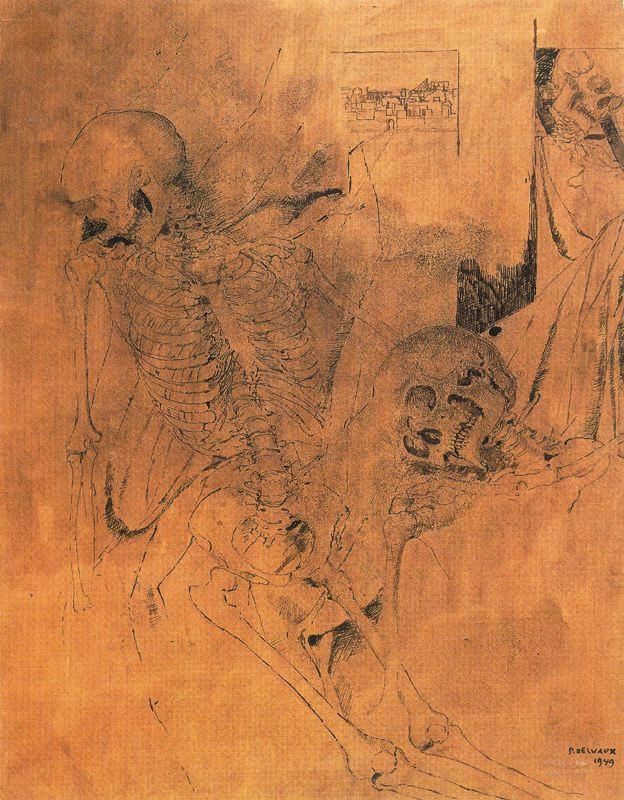 Paul Delvo. Skeletons