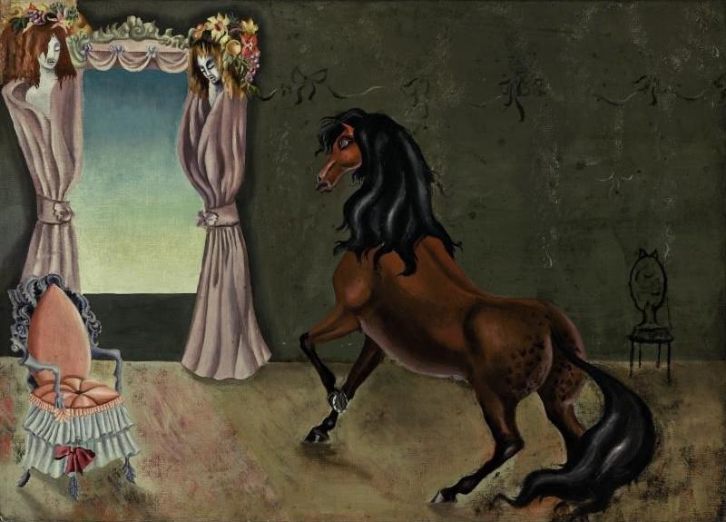 Леонора Каррингтон. Лошадь в комнате