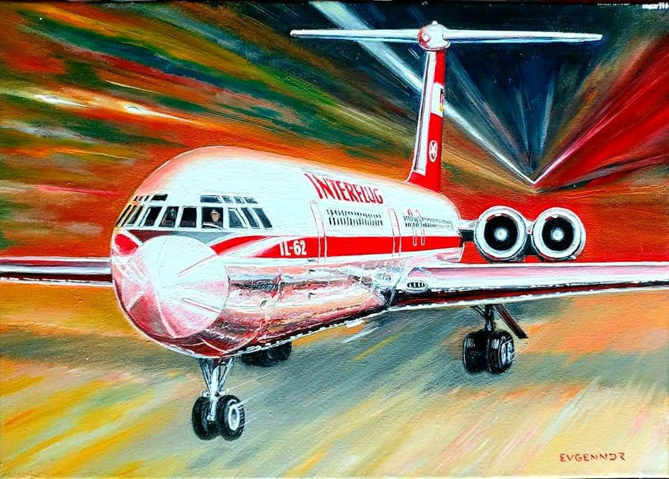 "Aviation Art. ""Взлёт"""